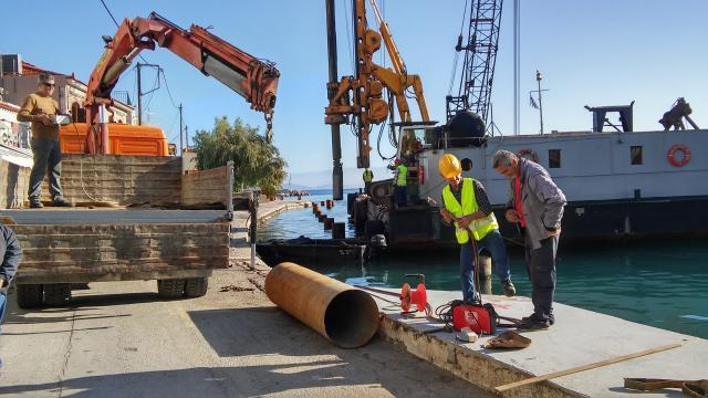 Αποτέλεσμα εικόνας για Αναβάθμιση των υποδομών του λιμένα Λαγκάδας Χίου