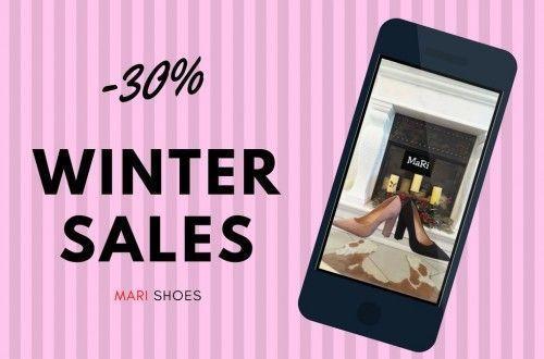 -30% για όλη την χειμερινή collection - Mari Shoes - Χίος