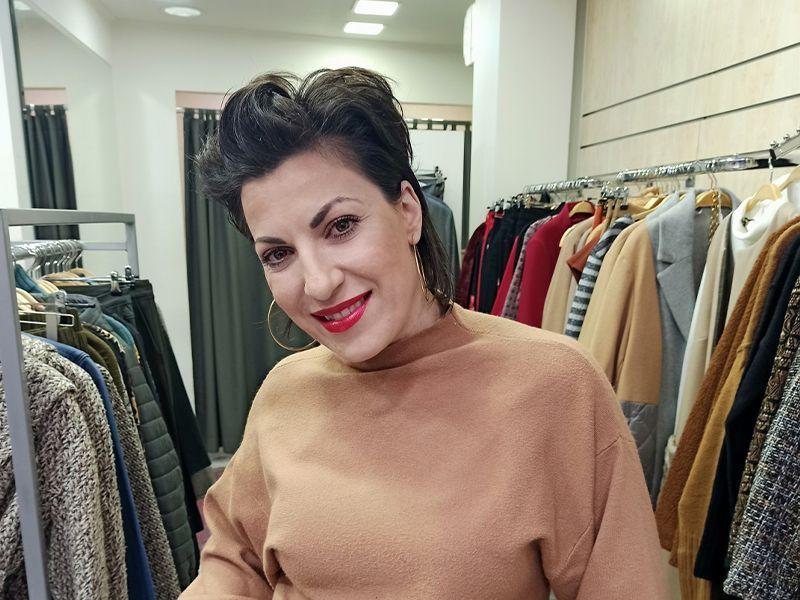 Δέσποινα Παπαγιαννάκη ιδιοκτήτρια των καταστημάτων Raxevsky Χίου