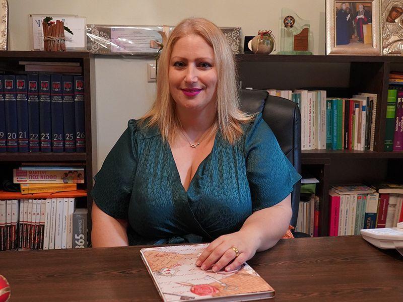 Μαρία Τσικουδή Καλαγκιά - Ψυχολόγος