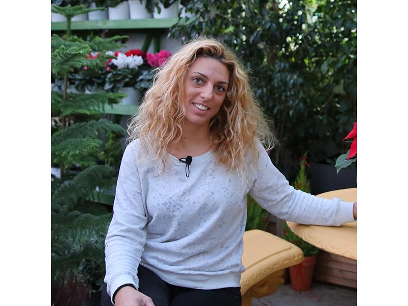 Μαρία Τσιαδή Γεωπόνος – Ιδιοκτήτρια φυτωρίου ΕΔΕΜ