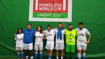 Η INTERAMERICAN χορηγός της Εθνικής Ομάδας  στο Παγκόσμιο Κύπελλο Ποδοσφαίρου Αστέγων