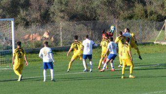 Από το παιχνίδι του Ηρακλή με τη Μικρασιατική όπου οι δύο ομάδες ήρθαν ισόπαλες 1-1