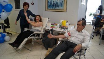 Αιμοδοσία στην Εθνική Ασφαλιστική