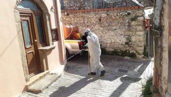 Απολύμανση από το Δήμο Χίου στο Θολοποτάμι