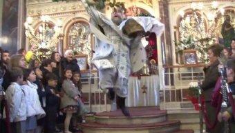 Εντυπωσιακή η πρώτη Ανάσταση στην Παναγία Ευαγγελίστρια Χίου - φωτό αρχείου