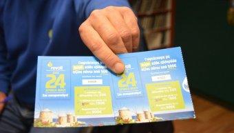 Οι δύο τελευταίοι τυχεροί αριθμοί που κερδίζουν από 500 € καύσιμα Revoil
