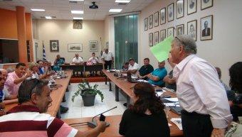 Ενταση στο Δημοτικό Συμβούλιο