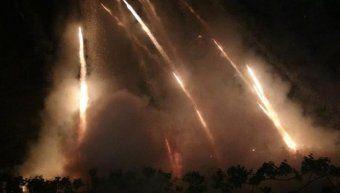Μετά από παύση ενός έτους διεξήχθη και πάλι ο ρουκετοπόλεμος στον Βροντάδο της Χίου