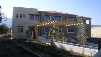 Το κτήριο του ΙΚΑ στη Χίο