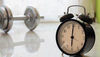 καλύτερες ώρες για γυμναστική;