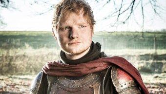 ο Ed Sheeran στο «Game Of Thrones»
