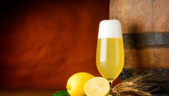 λεμόνι στην μπύρα