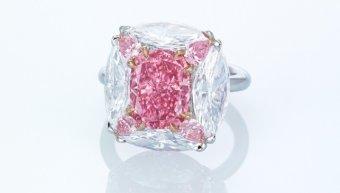 ροζ διαμάντι