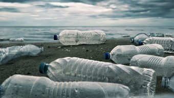 πλαστικά μπουκάλια, θάλασσα, πλαστική ρύπανση