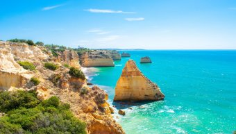 Praia de Benagil, Algarve, Πορτογαλία