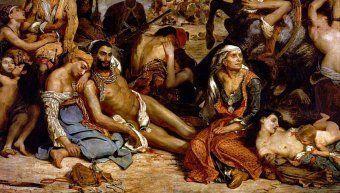 Ντελακρουά Η σφαγή της Χίου