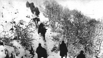 Στην πρώτη γραμμή του αλβανικού μετώπου το 1940