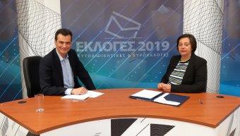 Τελευταία συνέντευξη Μανώλη Βουρνού στην Αλήθεια TV