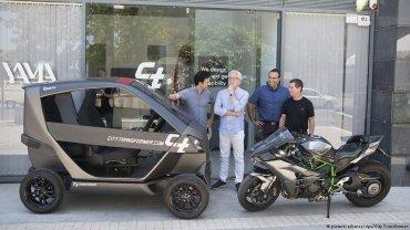 το πρώτο πτυσσόμενο ηλεκτρικό αυτοκίνητο