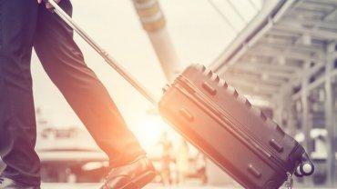 βαλίτσα, αεροδρόμιο, άνδρας