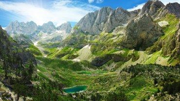 Αλβανικές Άλπεις, λίμνη