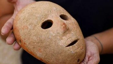 H μάσκα της νεολιθικής περιόδου ηλικίας 9.000 ετών