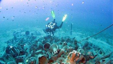 αποκάλυψη αρχαίου ναυαγίου