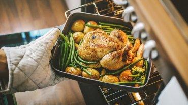 μαγειρική, κοτόπουλο, φούρνος