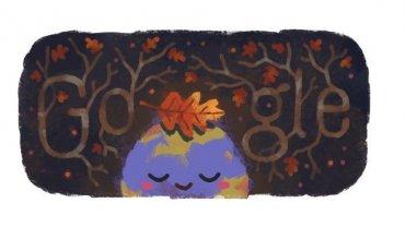 Το φθινοπωρινό doodle της Google