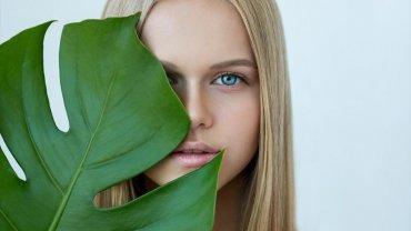 φυσικό μακιγιάζ, γυναίκα, ομορφιά, μπλε μάτια
