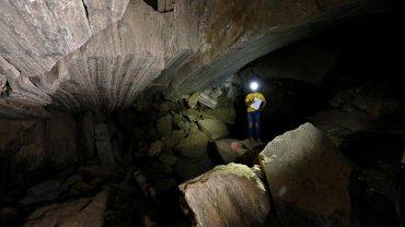 το μεγαλύτερο σπήλαιο ορυκτού αλατιού διεθνώς