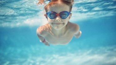 παιδί, κολύμπι