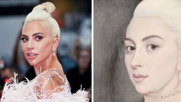 Lady Gaga, AI Portraits