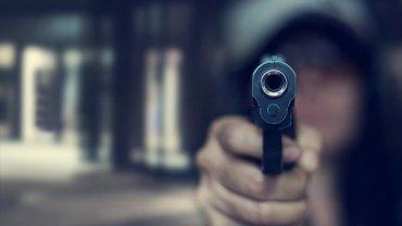 ληστής, όπλο