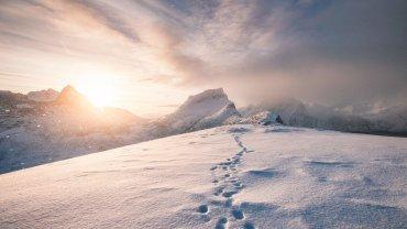 βουνά, χιόνι