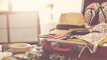 βαλίτσα για τις διακοπές