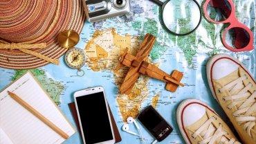 χάρτης, ταξίδι