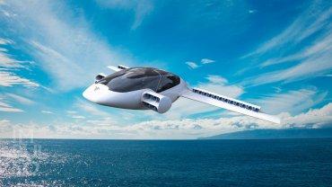 το ηλεκτρικό ιπτάμενο ταξί