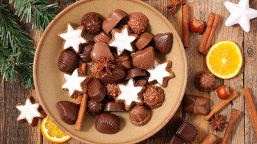 χριστουγεννιάτικα σοκολατάκια