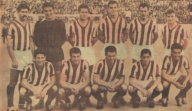 Η ομάδα του Ολυμπιακού 1953-1959
