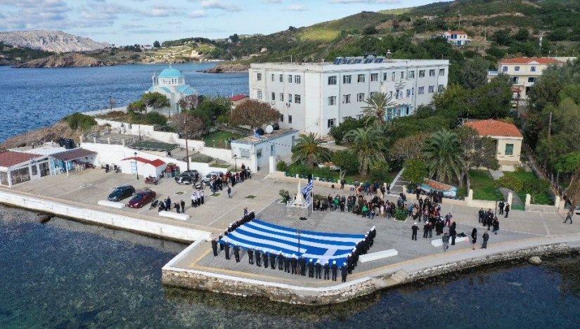 Λαμπρή τελετή υποδοχής των πρωτοετών σπουδαστών της ΑΕΝ Πλοιάρχων Οινουσσών