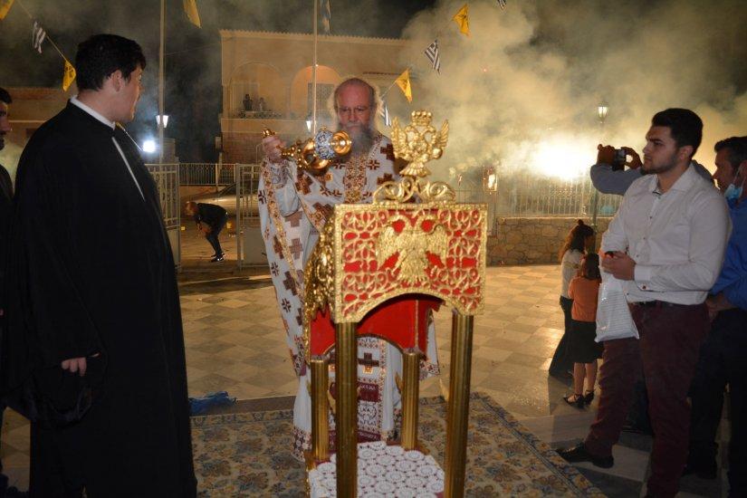 Ανάσταση στην Παναγία Ευαγγελίστρια Χίου