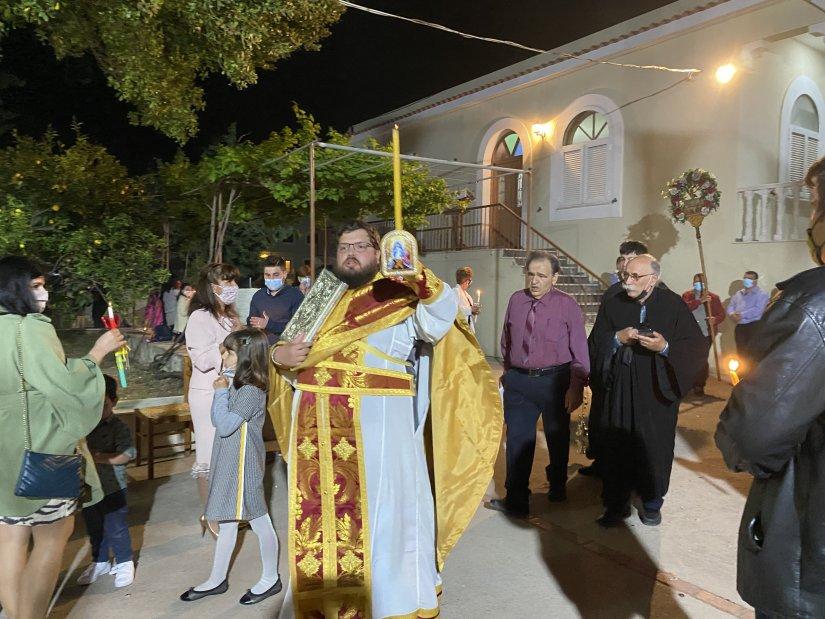 Χριστός Ανέστη στην Παναγία Ευρετή