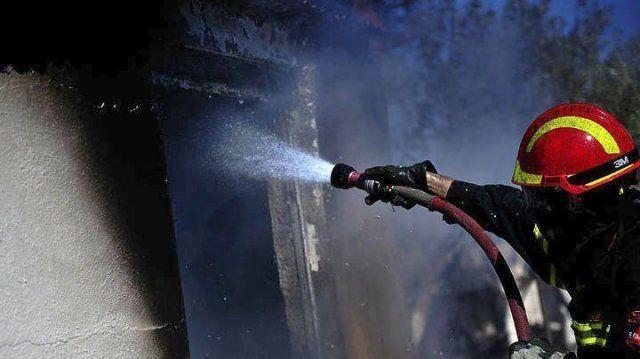 Φωτιά σε λεβητοστάσιο στο Θολοποτάμι