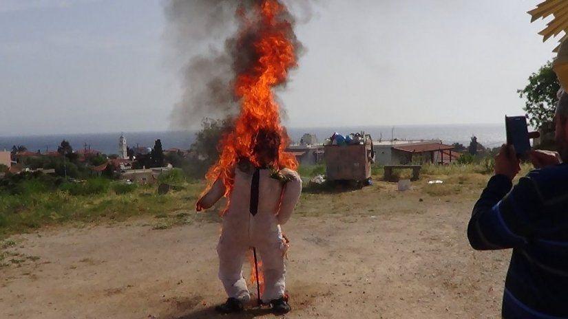 Το κάψιμο του Ιούδα