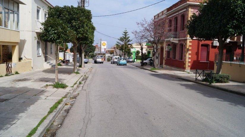 Από την οδό Καλουτά στο ΙΚΑ θα βγάζει ο νέος δρόμος