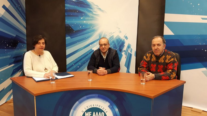 Ισίδωρος Αμέντας και Κώστας Πατελάρας μιλούν για τους ελέγχους σε τρόφιμα και καύσιμα