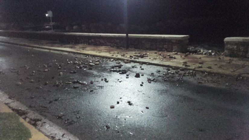Πέτρες στο δρόμο
