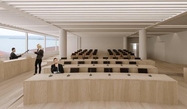 Η Αίθουσα του Δημοτικού Συμβουλίου